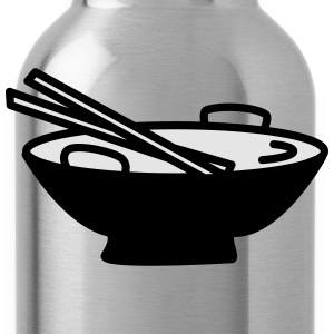 Bowl with Chopsticks - Water Bottle
