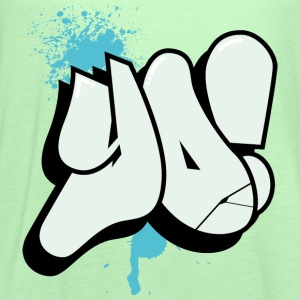 Yo Boyz Graffiti - Women's Flowy Tank Top by Bella