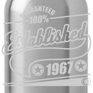 established 1967b.png T-Shirts - Water Bottle
