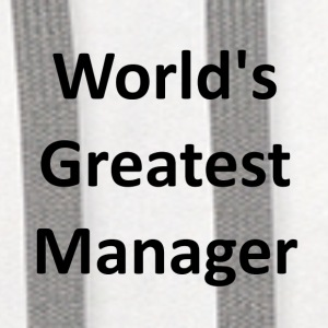 World's Greatest Manager - Contrast Hoodie