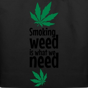smoking weed T-Shirts - Eco-Friendly Cotton Tote