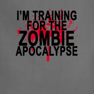 training_for_the_zombie_apocalypse_ - Adjustable Apron