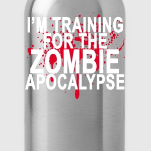 training_for_the_zombie_apocalypse_ - Water Bottle