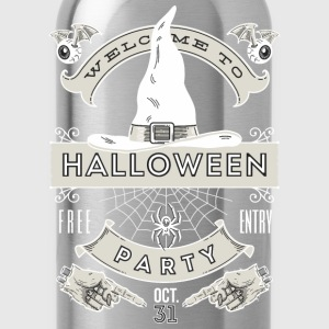 Halloween Party Polo Shirts - Water Bottle