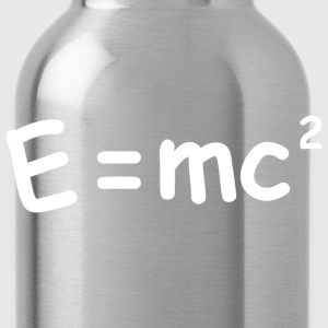 E Equals MC squared - Water Bottle
