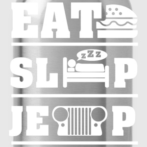 Eat, sleep, jeep T-Shirts - Water Bottle