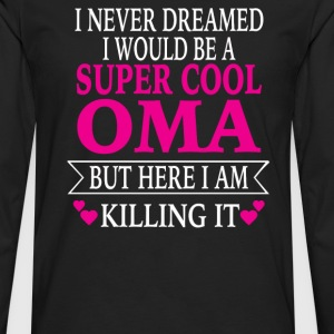 Super Cool Oma - Men's Premium Long Sleeve T-Shirt