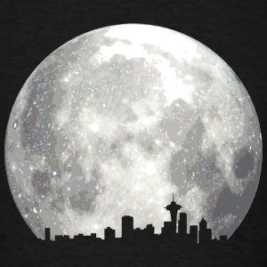 full moon skyline Sweatshirts - Men's T-Shirt