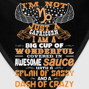 I'm not Just A Capricorn! T-Shirts - Bandana