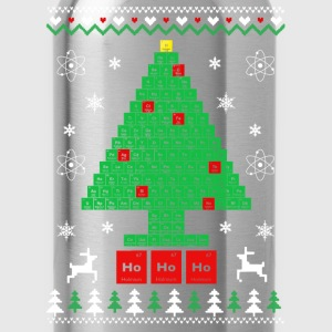 Chemist-Tree Christmas T-Shirts - Water Bottle