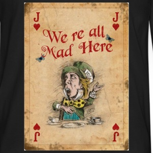 The Mad Hatter, Alice in Wonderland, Jack of Heart - Men's Premium Long Sleeve T-Shirt