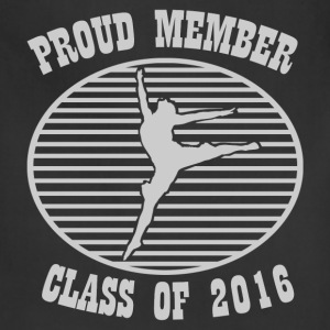 PROUD MEMBER OF BALLET 2.png T-Shirts - Adjustable Apron