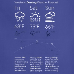 Weekend Gaming Weather Forecast - Adjustable Apron