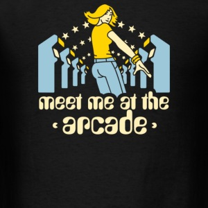 Meet me at the arcade - Men's T-Shirt