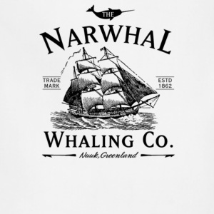 The Narwhal Whaling Company - Adjustable Apron