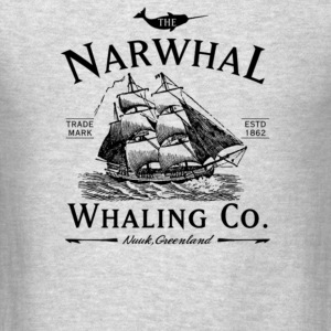 The Narwhal Whaling Company - Men's T-Shirt