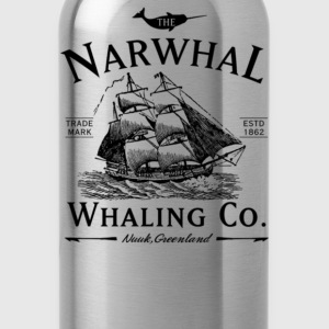 The Narwhal Whaling Company - Water Bottle