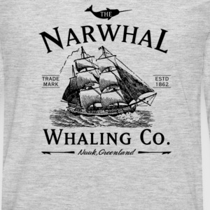 The Narwhal Whaling Company - Men's Premium Long Sleeve T-Shirt