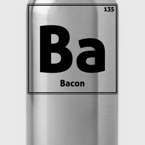 Bacon Periodic Table - Water Bottle
