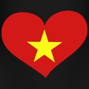 Vietnam Heart; Love Vietnam Bags & backpacks - Toddler Premium T-Shirt