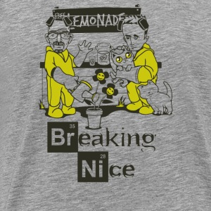 Breaking Nice - Men's Premium T-Shirt
