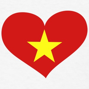 Vietnam Heart; Love Vietnam Other - Men's T-Shirt
