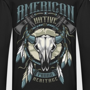 American Indian Hoodies - Men's Premium Long Sleeve T-Shirt