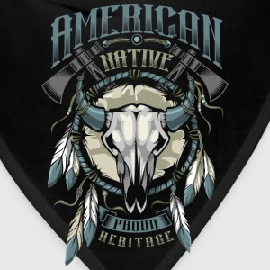 American Indian T-Shirts - Bandana