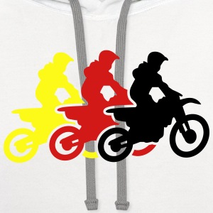 motocross T-Shirts - Contrast Hoodie