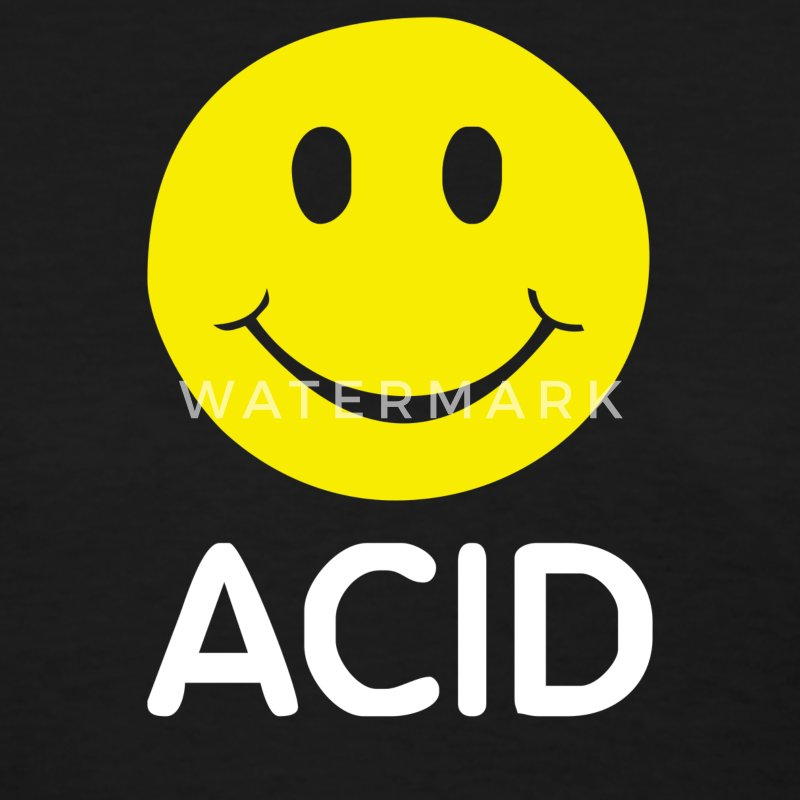 ACID HOUSE SMILEY - Women's T-Shirt
