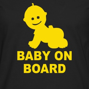 Baby on Board - Men's Premium Long Sleeve T-Shirt