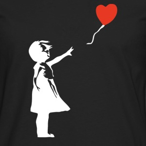 Banksy Style - Men's Premium Long Sleeve T-Shirt