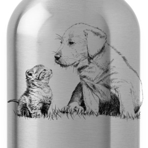 Puppy and kitten T-Shirts - Water Bottle