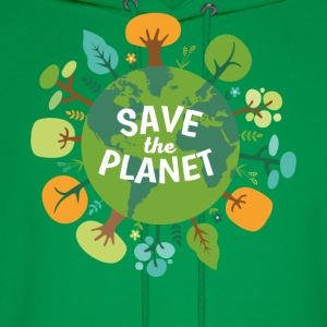 Save The Planet Ecology T-shirt T-Shirts - Men's Hoodie