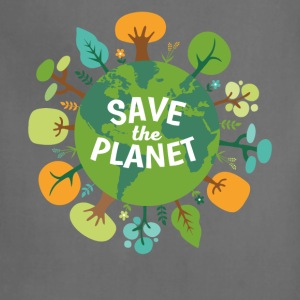 Save The Planet Ecology T-shirt T-Shirts - Adjustable Apron