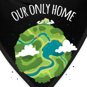Our Only Home Ecology T-shirt T-Shirts - Bandana