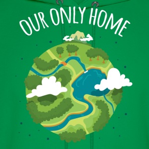 Our Only Home Ecology T-shirt T-Shirts - Men's Hoodie