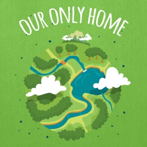 Our Only Home Ecology T-shirt T-Shirts - Tote Bag