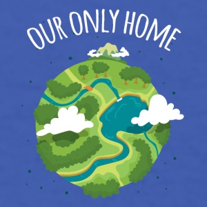 Our Only Home Ecology T-shirt Mugs & Drinkware - Men's T-Shirt
