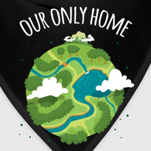 Our Only Home Ecology T-shirt Mugs & Drinkware - Bandana