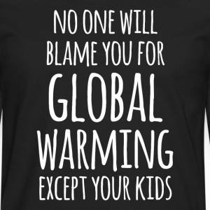 Global Warming Your Kids Ecology T-shirt T-Shirts - Men's Premium Long Sleeve T-Shirt
