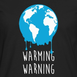Warming Warning Ecology T-shirt T-Shirts - Men's Premium Long Sleeve T-Shirt