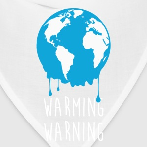 Warming Warning Ecology T-shirt T-Shirts - Bandana