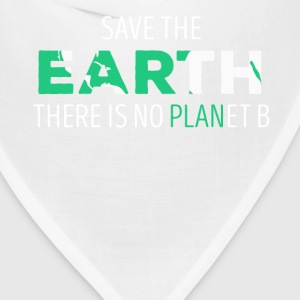 Save The Earth Ecology T-shirt T-Shirts - Bandana