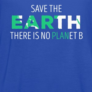 Save The Earth Ecology T-shirt T-Shirts - Women's Flowy Tank Top by Bella