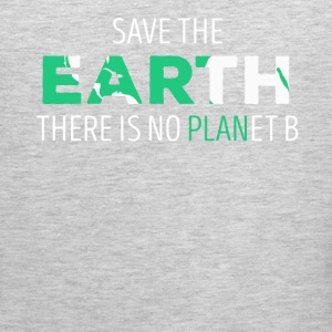 Save The Earth Ecology T-shirt T-Shirts - Men's Premium Tank