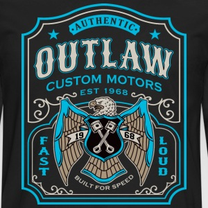 Outlaw Motors - Men's Premium Long Sleeve T-Shirt