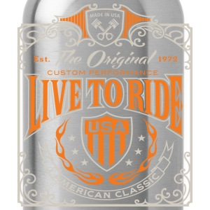Live To Ride - Water Bottle