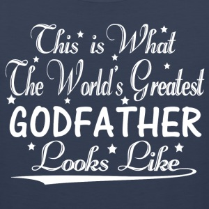 World's Greatest Godfather... T-Shirts - Men's Premium Tank