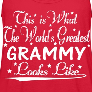 World's Greatest Grammy... T-Shirts - Women's Flowy Tank Top by Bella